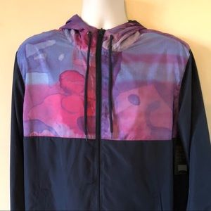 Acid Watercolor Windbreaker