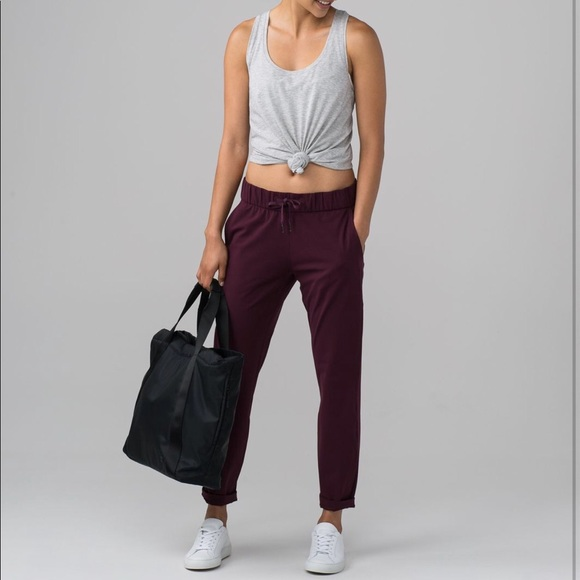 lululemon athletica Pants - Lululemon On the Fly Pants 4