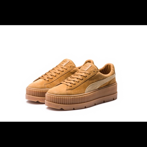 save off 6d96f 1c941 PUMA FENTY SUEDE CLEATED CREEPER WOMEN'S