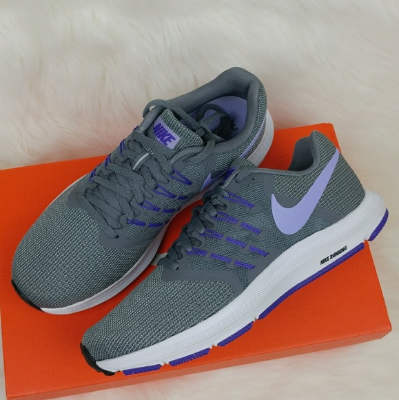 015afafd6521 Nike Run Swift womens athletic shoes purple  grey