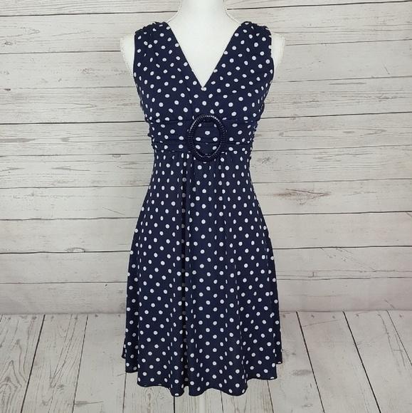 fa129dcf9e84 Charming Charlie Dresses & Skirts - Charming Charlie polka dotted dress