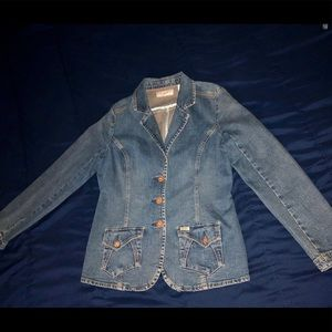 Levi's Denim fitted jacket