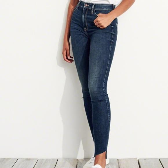 918dde1908e Hollister Denim - Hollister // Ultra High-Rise Super Skinny Jeans