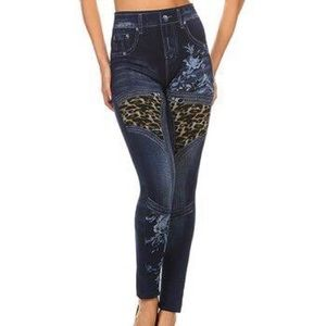 Pants - Women's High Waist Jeggings OS fits 2-8
