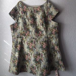 Simply Be Tapestry Dress