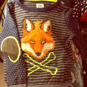 Mini Boden Fox Sweater