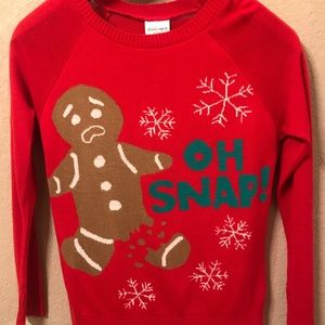 Sweaters - Oh Snap! Christmas Sweater