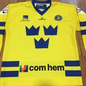 Vintage Shirts - Vintage Svenska Swedish League CCM Hockey Jersey 61febe00c