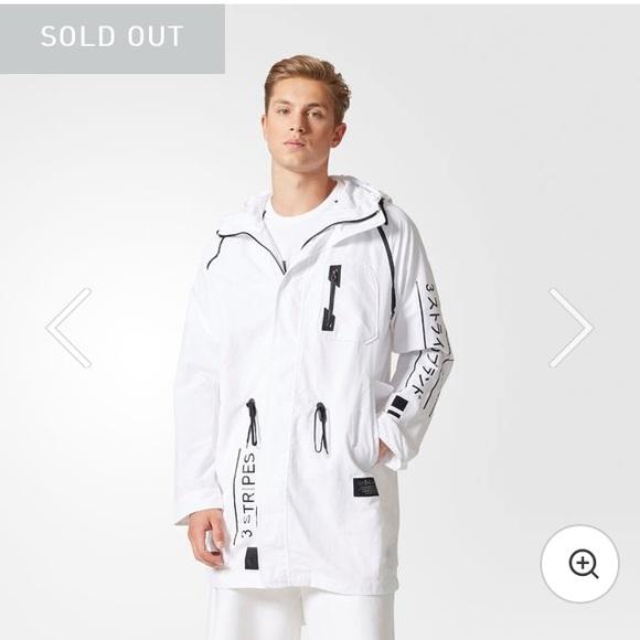 Mens Nmd Utility Jacket White