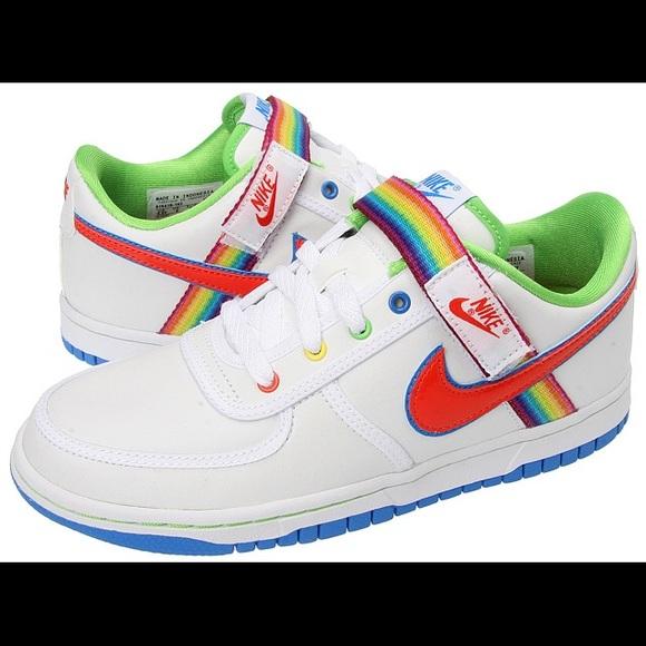 Like new rainbow Nikes