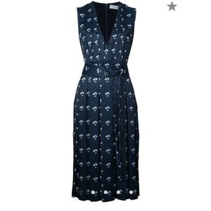 🆕Victoria Beckham floral pleated dress ❤️