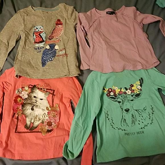 9c15d7948 Gap Kids Shirts & Tops | Girls Tshirt Bundle | Poshmark
