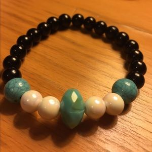 Jewelry - 🔹🔹Aqua Handcrafted Bracelet🔹🔹
