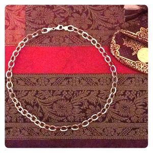NWOT Sterling Silver 92.5 Chain Choker Necklace