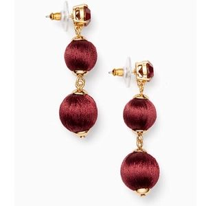 Kate Spade Graduated Ball Earrings