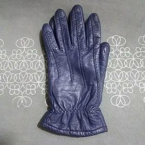NFS Loyda's 2/3 Bundle Vintage Blue Leather Gloves