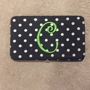 "Handbags - ""C"" Initial Wallet"