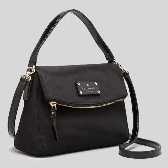 c608fb2263ba kate spade Handbags - Kate Spade nylon minka small crossbody hobo bag