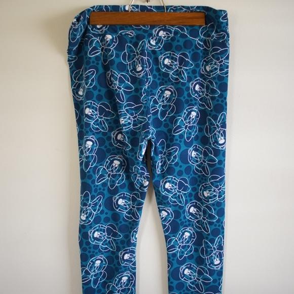 a1d6dd964795d8 LuLaRoe Pants   Disney Tall Curvy Leggings Minnie Unicorn   Poshmark