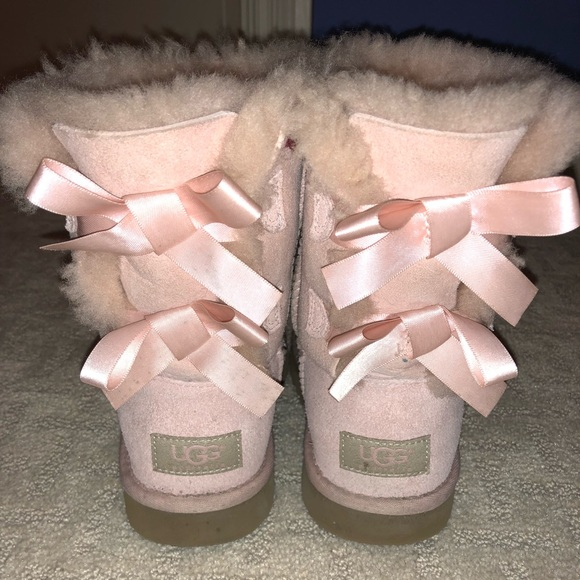 d4006251a53 Light Pink Ugg Bailey Bow Boots