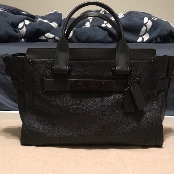 3cdc8a150 Coach Bags | Swagger All Black | Poshmark