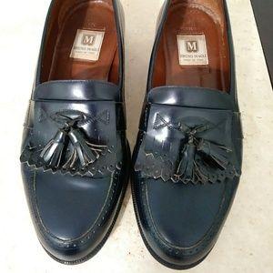 Men's Bruno Magli Vintage Slip-On Leather Loafers
