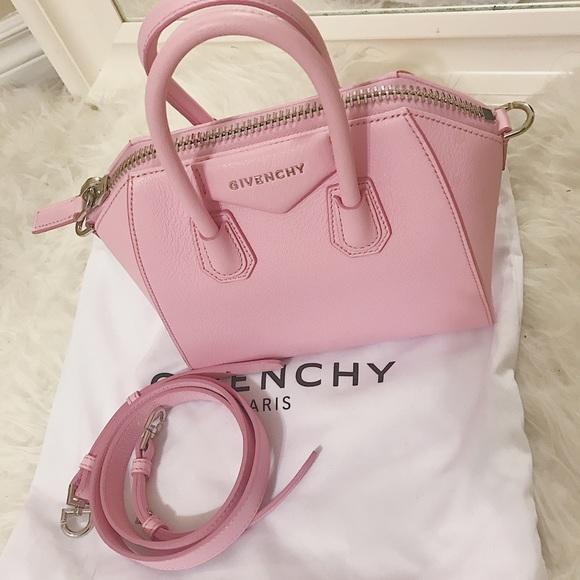 8756e54d3667 Givenchy Antigona Mini Pink