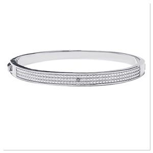 Diamond Texture Bangle