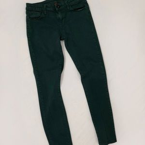 Dark green Uniqlo jeans