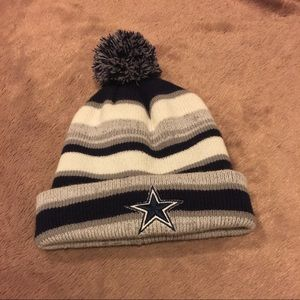 Accessories - Dallas Cowboys Blue and White Beanie