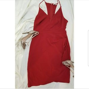 Charlotte Russe Strappy Caged Back Dress