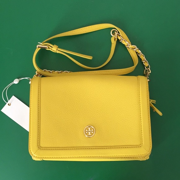 26be9e6d5ef0 Tory Burch Landon Combo Leather Crossbody