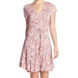 French Connection Bacongo Daisy Jersey Dress