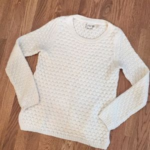 1hrFLASH!Cozy cable knit sweater SZ M.