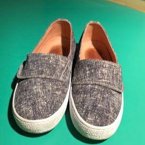 Corso Como Black & White Tweed Look Sneakers. Sz 8