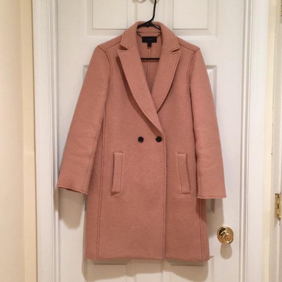 81febd69594 J. Crew Jackets   Blazers - Daphne Top Coat in Boiled Wool