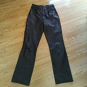 Rem Garson Pants - Rem Garson leather pants