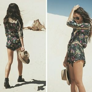 8eed75c4e02 Spell   The Gypsy Collective Other - Spell Designs Gypsy Queen Romper  Playsuit Size sm