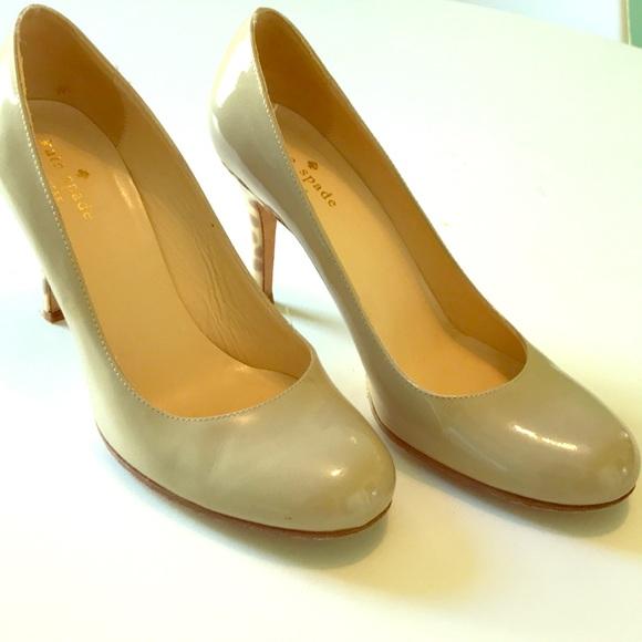 d6eefbbeefc6 kate spade Shoes - Kate Spade nude giraffe pumps 7.5