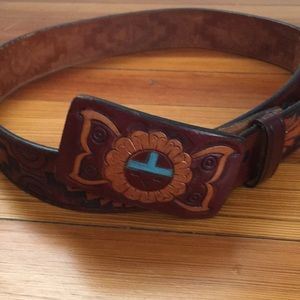 Accessories - Leather belt made in USA