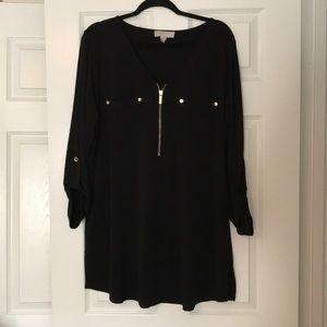 Michael Kors Black Tunic, 1X