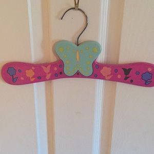 Other - Kids floral hanger- FREE W PURCHASE