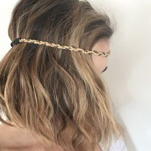 Accessories - Suede Head Band