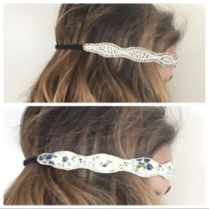 Accessories - Beaded and a Floral Headband