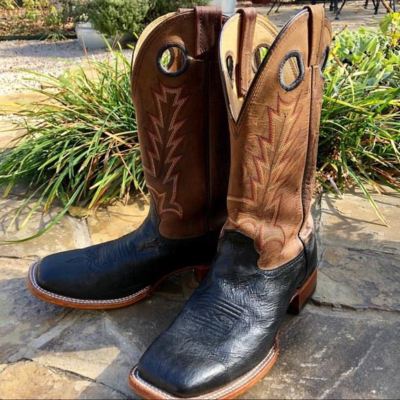 c09aa55d0e0 Cavenders Mens square toe cowboy boots. Size 9.5D