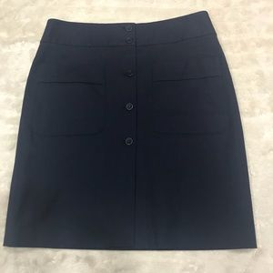 Theory button-front skirt Size 10