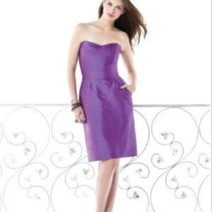 Dessy 2816...Cocktail Dress...Lotus..Sz 10NWT for sale