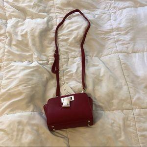 NWT red crossbody purse