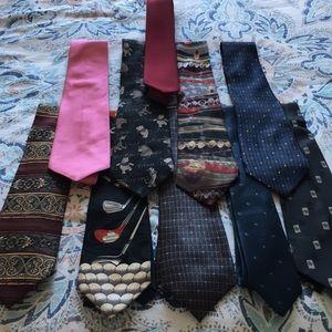 Ties. Pack of 10