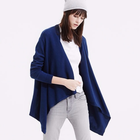 LOFT Sweaters - Hi Side Open Cardigan